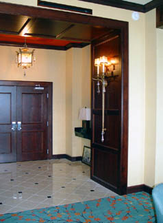 Presidential Suite Entry